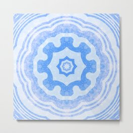 Water Kaleidoscope Metal Print