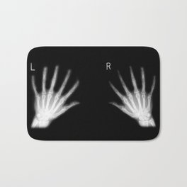 Extra Digit X-Ray Bath Mat