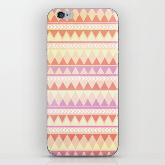 Summer Aztec Pattern iPhone & iPod Skin