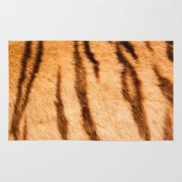Safari Tiger Fur Theme Rug