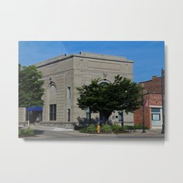 The Citizens Banking Co Metal Print