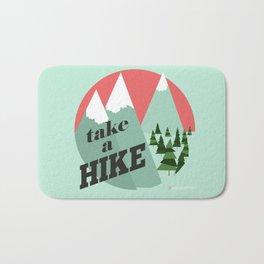 Take a Hike Bath Mat