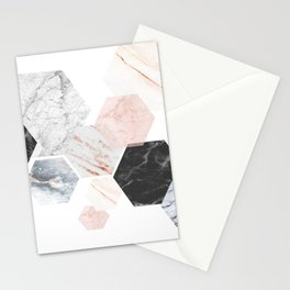 Lost in Marble Stationery Cards
