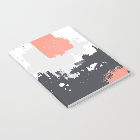 Abstract Paint Pattern 01 Notebook