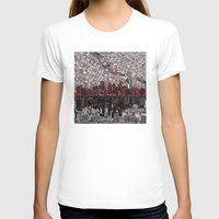 minneapolis T-shirts featuring minneapolis city skyline by Bekim ART