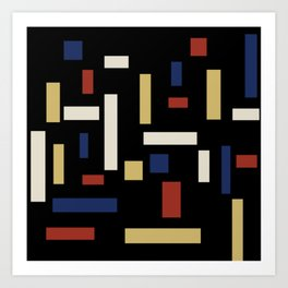 Abstract Theo van Doesburg Composition VII The Three Graces Art Print