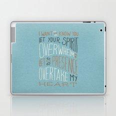 I Want to Know You (Bethel) Laptop & iPad Skin