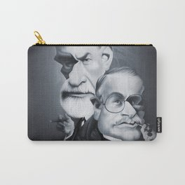 Sigmund Freud and Carl Jung Carry-All Pouch