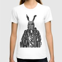 donnie darko T-shirts featuring Frank the Rabbit - Donnie Darko by Ayse Deniz