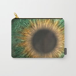 The Green Iris Carry-All Pouch