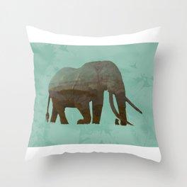 Elephant Wisdom Throw Pillow