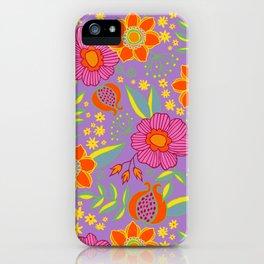 Floral Nuevo iPhone Case