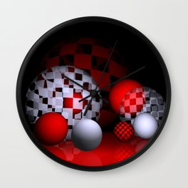 inside and outside Wall Clock