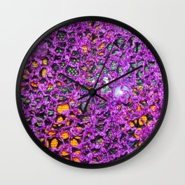 Knitted 'Te inspirations Wall Clock