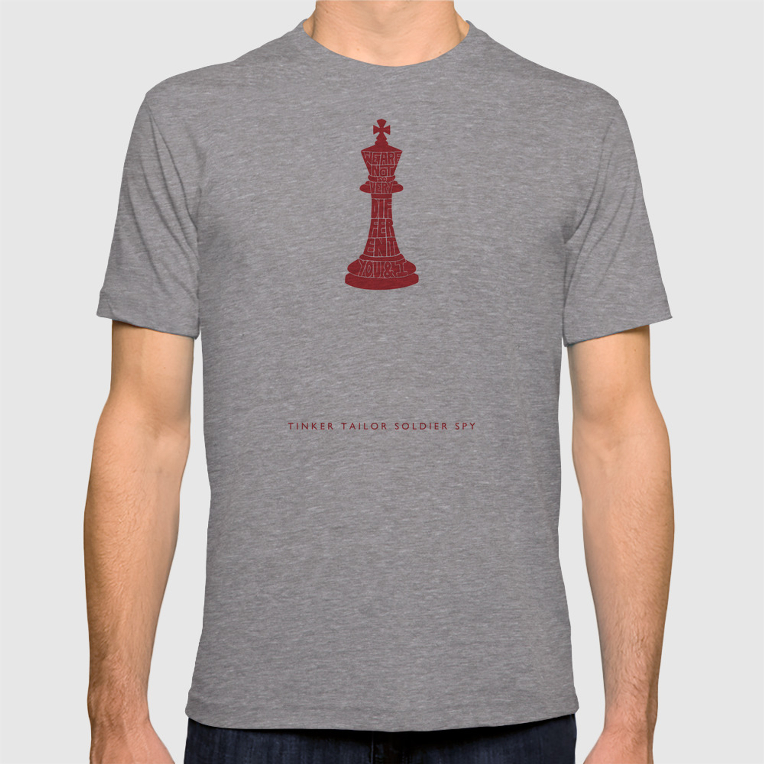 32cbca66b4928e We Are Not So Very Different -Tinker Tailor Soldier Spy T-shirt by zchbrns