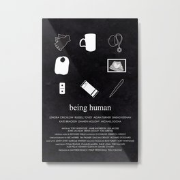 Being Human - Icons Metal Print