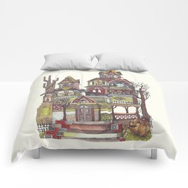 Haunted House Comforters