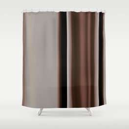 Ombre Brown Earth Tones Shower Curtain