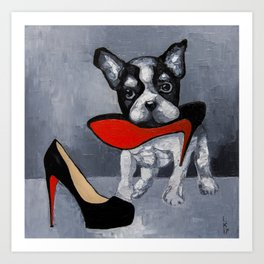 SAVE THE SHOES! Art Print