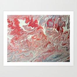 Coral Way Art Print