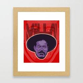 Villa -La Raza 1910 Framed Art Print