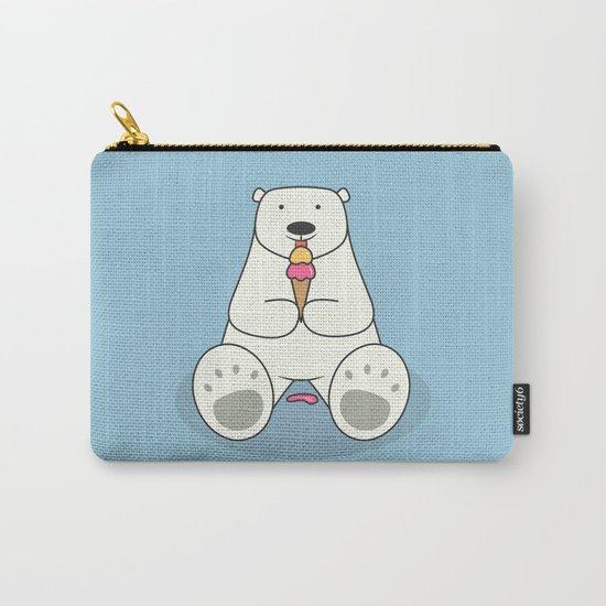 Ice Cream Lover Bear Carry-All Pouch