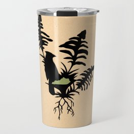Kentucky - State Papercut Print Travel Mug