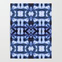Blue Oxford Shibori by ninamay
