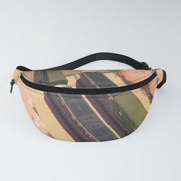 ride streamliners man owar and nancy hanks  oude poster Fanny Pack