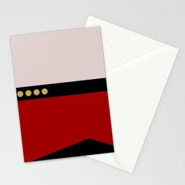 Picard -Minimalist Star Trek TNG The Next Generation  Captain Jean Luc Picard startrek Trektangles Stationery Cards