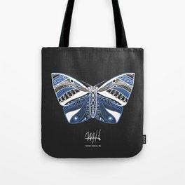 Lace Moth Tote Bag