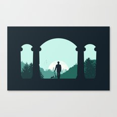 Time Traveler Canvas Print