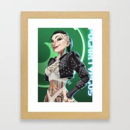 Dissin' the Dance Commander Framed Art Print