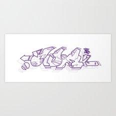 graffiti - .COM Art Print