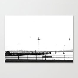 I want you to stay Canvas Print