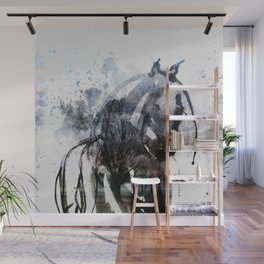Horse (Freezing) Wall Mural