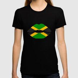 Jamaica Flag Jamaican Soccer Reggae T-shirt