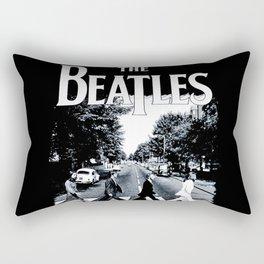 Abbey Road Walking Rectangular Pillow