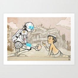 Toy Art Print