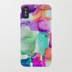 Wild Eye Purple Slim Case iPhone X