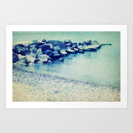Lake Erie Shore Art Print