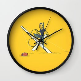 Finding Jaws Wall Clock