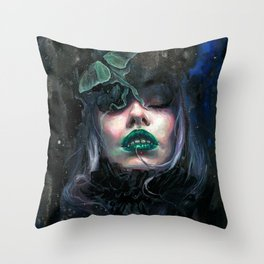 Sweet Void Throw Pillow
