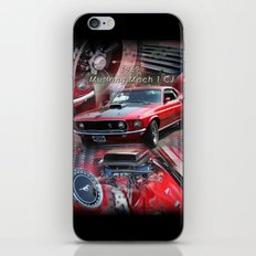 1969 Mustang Mach 1 CJ iPhone & iPod Skin