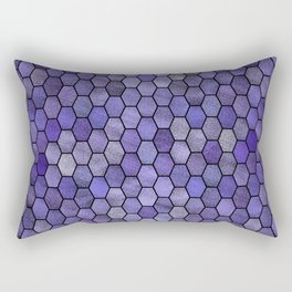 Glitter Tiles IV Rectangular Pillow