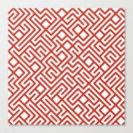 10 Print: Bold Red Canvas Print