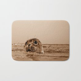 The SEAL - sepia 17 Bath Mat