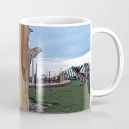 Driftwood Face Coffee Mug