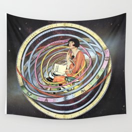 The pursuit of meaning Wall Tapestry