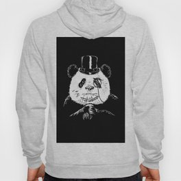 classy panda Hoody